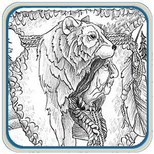 300 x 300 jpeg 94kB, Printable Bear Template Free/page/2   New ...