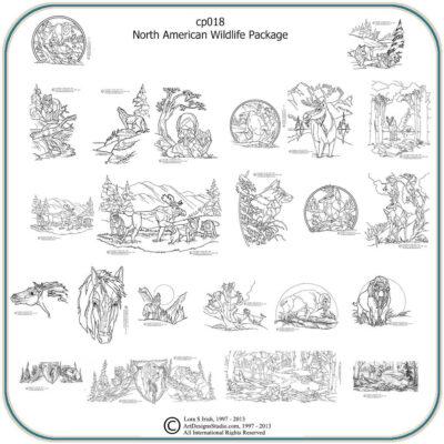 North American Wildlife Patterns