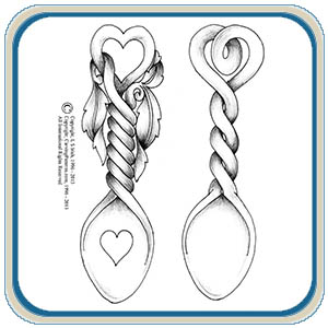 Welsh Love Spoons Patterns – Classic Carving Patterns