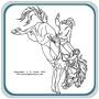 Western Horses Scene