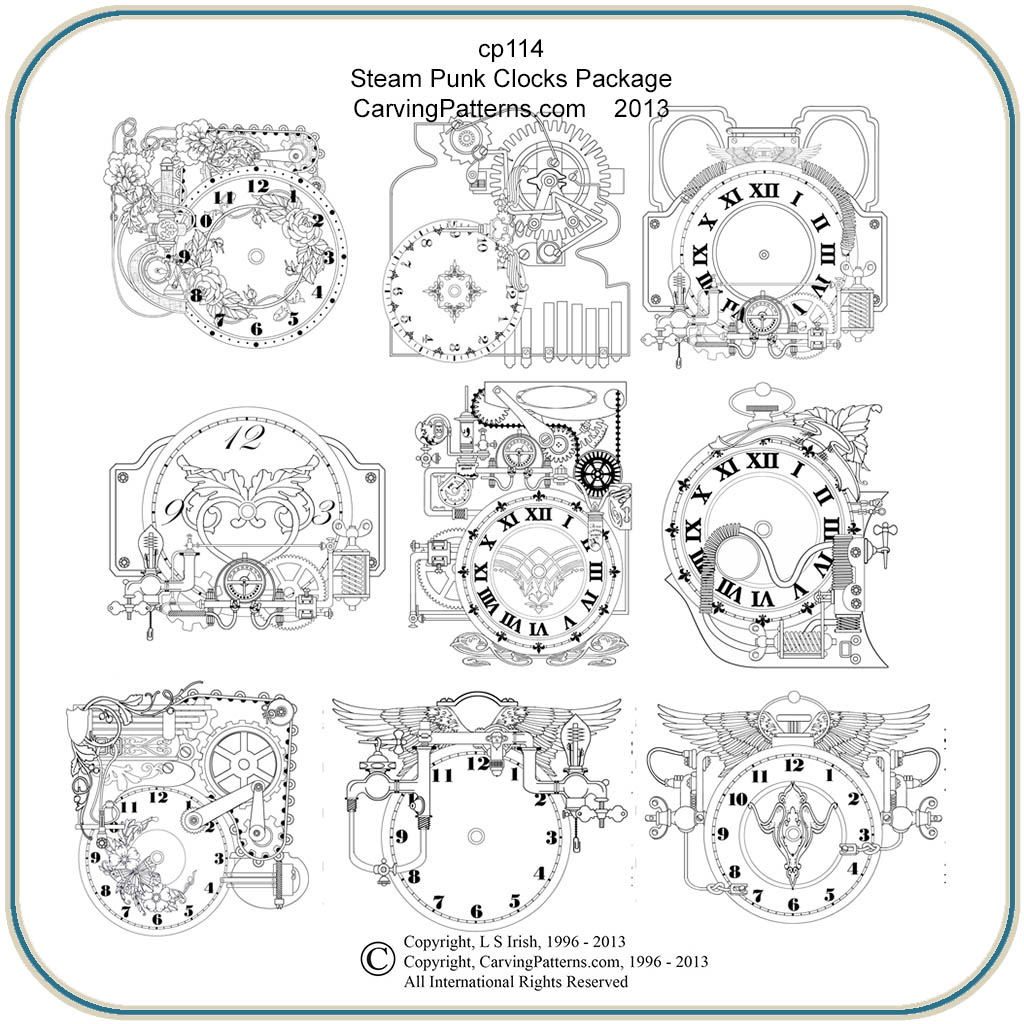 Woodworking clock patterns woodwork sample