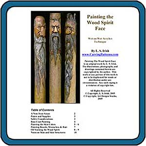 Wood Spirit Carving eProject by Lora S. Irish