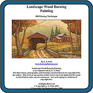 Landscape Wood Burning eProject by Lora S. Irish