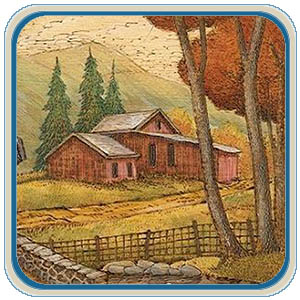 Landscape Wood Burning eProject – Classic Carving Patterns