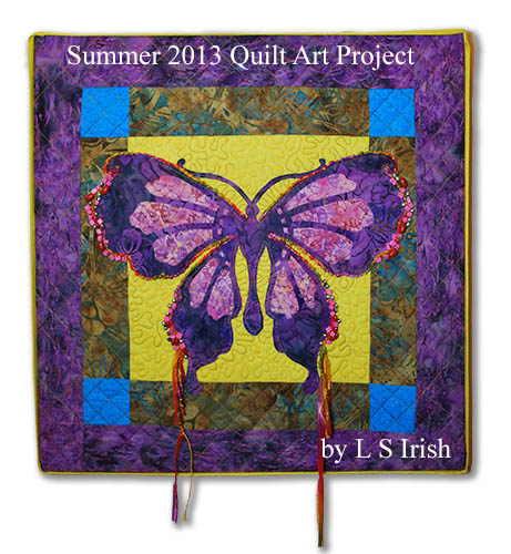 Fretwork Butterfly Quilt Pattern