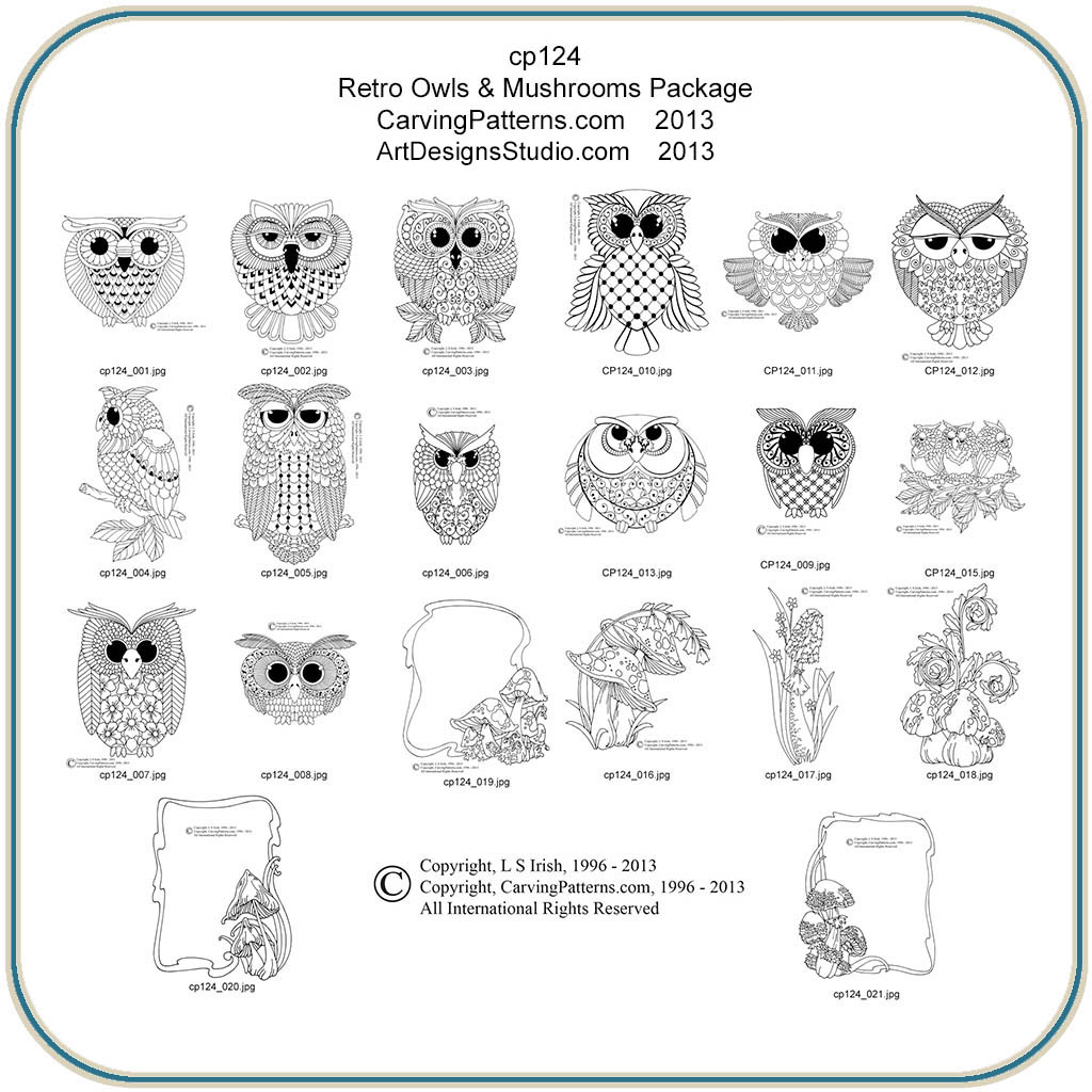 Patterns for wood carving owls plans diy free download