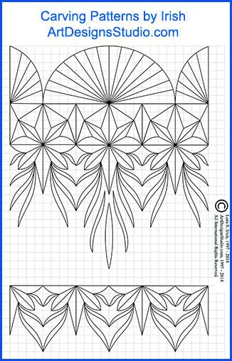 L s irish classic carving patterns