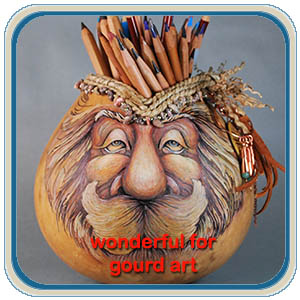 gourd art patterns by Lora Irish