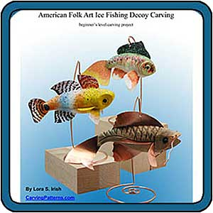 Whittle Fish Decoys by Lora S. Irish