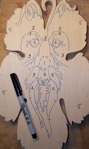 Your first carving pattern page lsirish