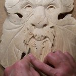 detailing stage of wood carving