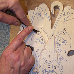 stop cut in relief carving