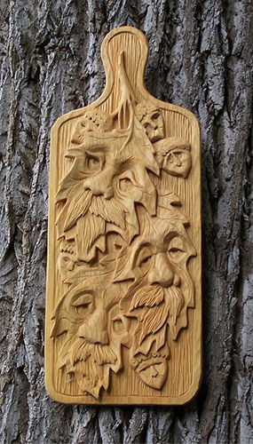 Wood relief carving new purse and zenonimages