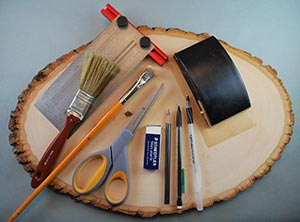 general supplies needed in pyrography