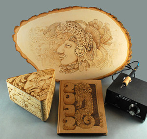 free pyrography patterns and lessons