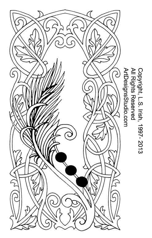 pyrography leather journal  u2013 page 3  u2013 classic carving patterns