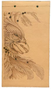 pyrography project by Lora Irish