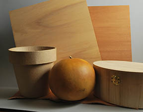 any natural fiber or surface can be used for pyrography
