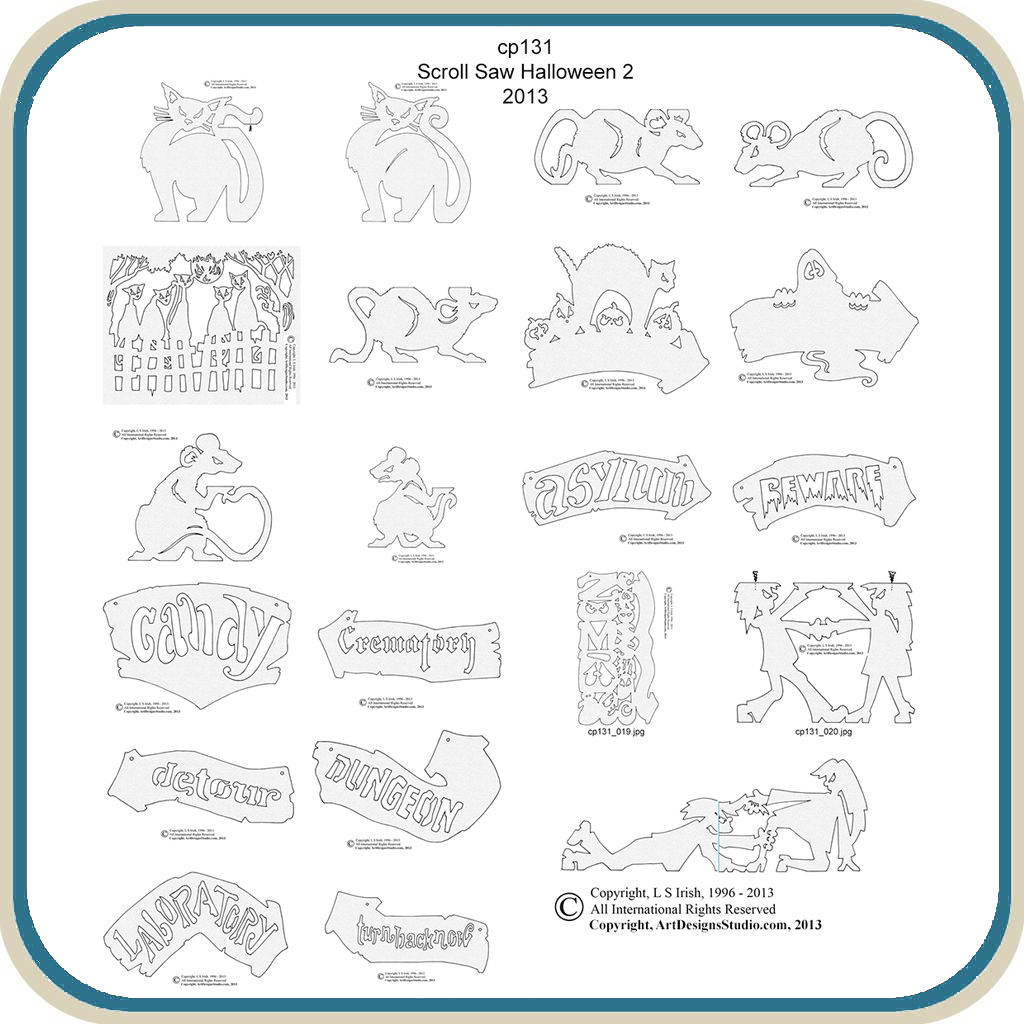 Scroll Saw Patterns Free Pdf