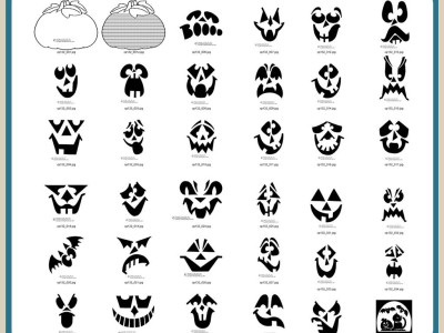 Pumpkin Carving Patterns, Jack O Lanterns