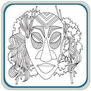 Ceremonial Masks by Lora S. Irish