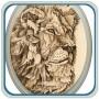 Lion Portrait Pyrography by Irish