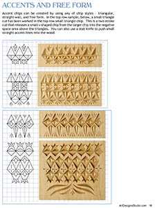 photo regarding Printable Chip Carving Patterns titled Chip Carving Essentials E-Undertaking