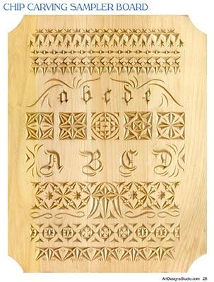Chip Carving Basics by L. S. Irish