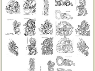 Asian Dragon Patterns