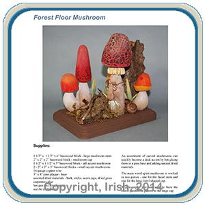Wood Spirit Mushroom Carving E-Project