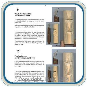 Wood Spirit Mushroom Carving E-Project