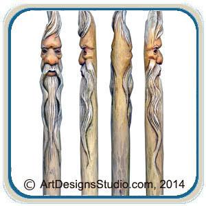 Wizard Wands Canes Walking Sticks