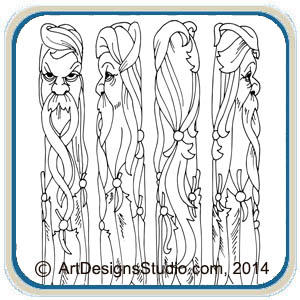 Canes, Walking Sticks & Wizard Wands – Classic Carving Patterns
