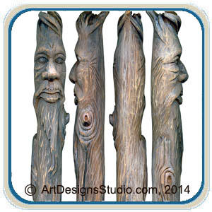 Canes Walking Sticks Amp Wizard Wands Classic Carving