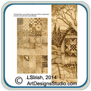textures and fill patterns with our Quilt Barn Pattern