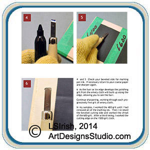 guesswork out of carving tool sharpening
