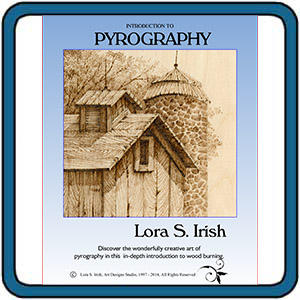 Introduction to Pyrography by Lora S. Irish