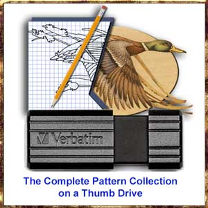 the complete pattern collection on a thumb drive