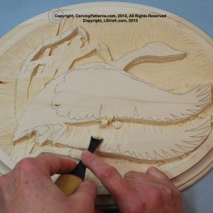 How to determine the depth of the levels in your wood carving relief pattern by Lora Irish