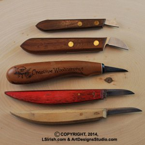 Free Cane Carving Wood Project - Twistie Sticks by Lora Irish
