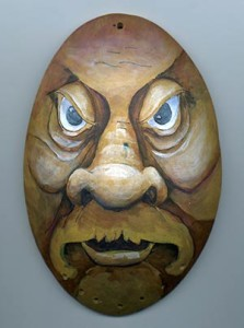 Gourd Art Wood Spirit Mask Free Project