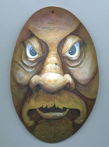 Gourd Art Wood Spirit Mask Free Project