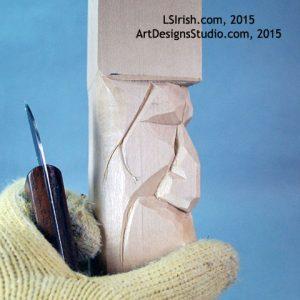 free Lora Irish carving book