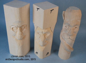 how to wood carve eyes