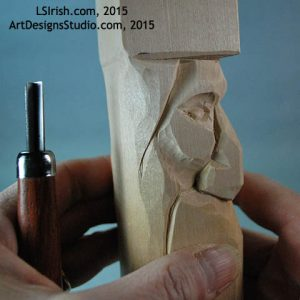 free wood spirit carving