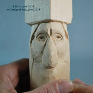 wood carving patterns for wood spirits