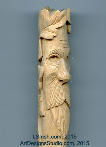 Wood Spirit Carving 13 Defining The Beard Classic
