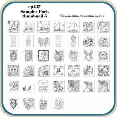 Sampler Pattern Package by Lora Irish