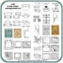Postage Stamp Patterns by Lora Irish