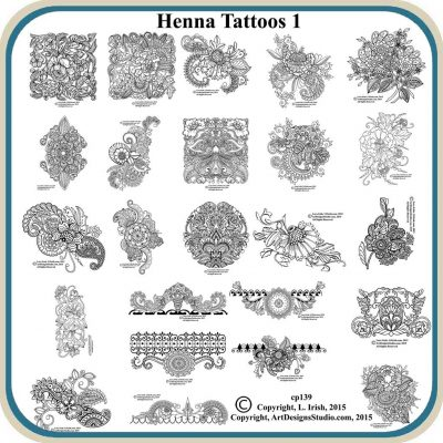 Henna Tattoo Patterns